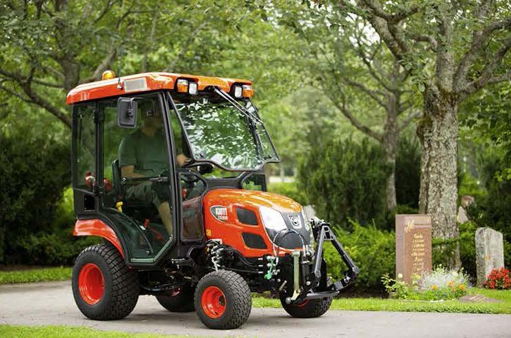 Kioti traktor